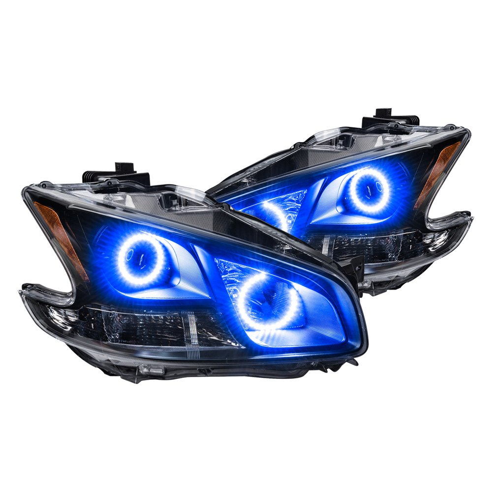 Oracle Lighting  Nissan Maxima 2010 Black Factory Style