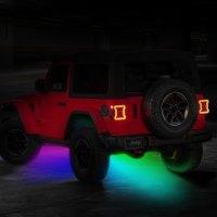 Oracle Lighting - Bluetooth RF Multicolor LED Rock Light Kit