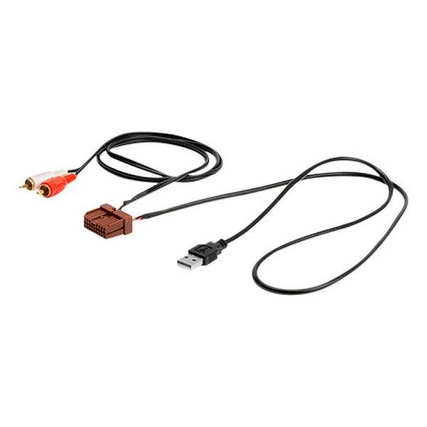 Originele AUX en USB gebruiken bij inbouw Pioneer AVIC-F
