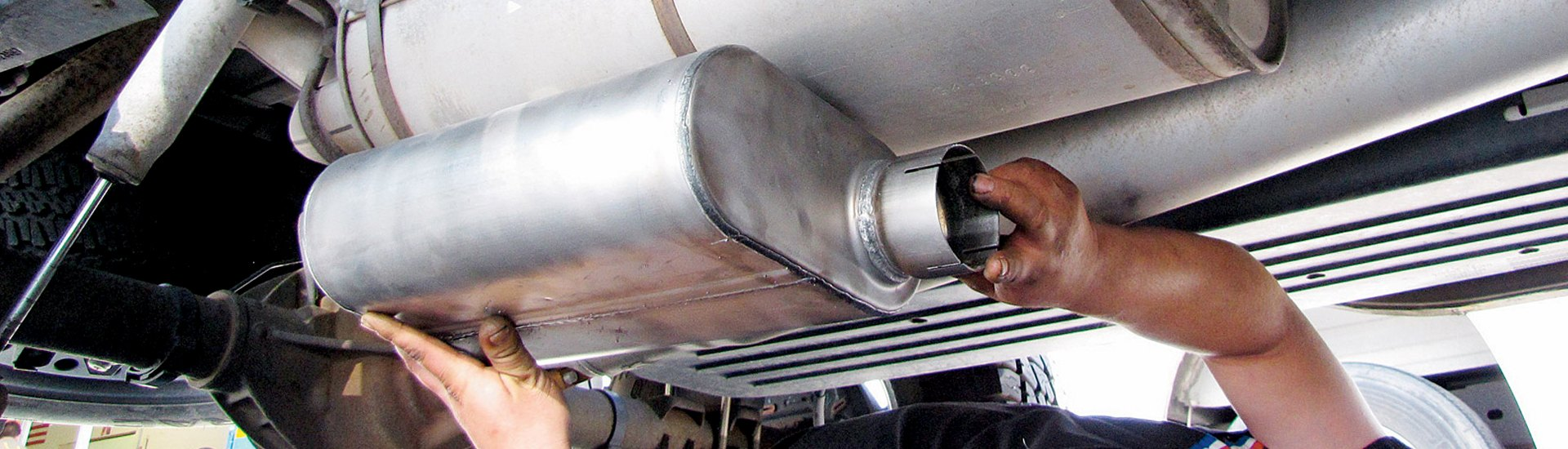 hight resolution of replacement exhaust parts