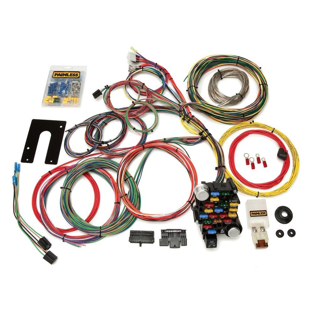 hight resolution of painless performance u00ae painless performance classic plus painless 10405 universal wiring harness painless 10405 universal wiring harness