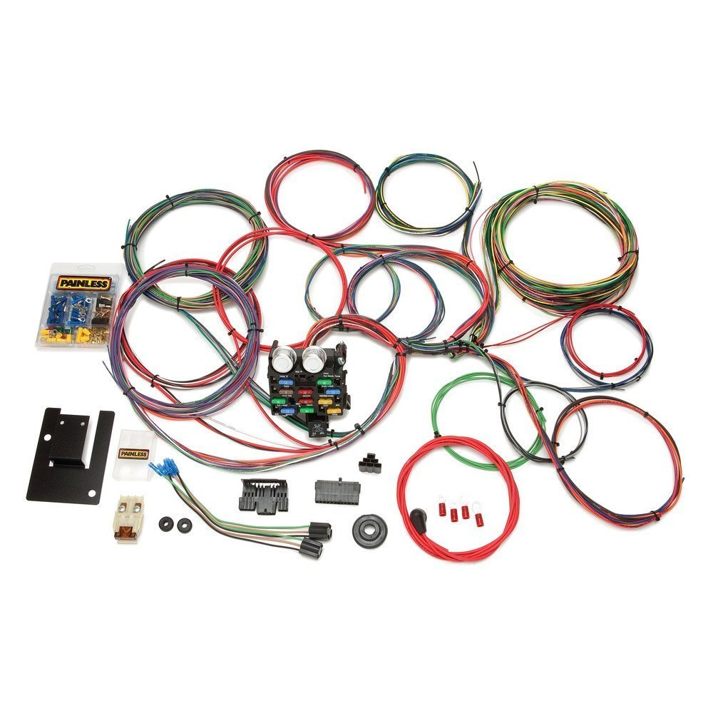 medium resolution of painless performance 21 circuit classic chassis harness