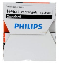 4x6 rectangular chrome factory style sealed beam headlight  [ 1500 x 1500 Pixel ]