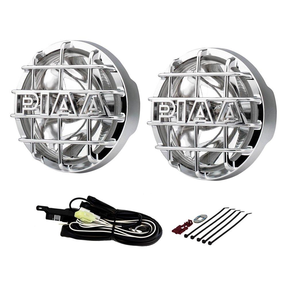medium resolution of piaa 520 xtreme series smr 6 2x55w round chrome housing driving beam