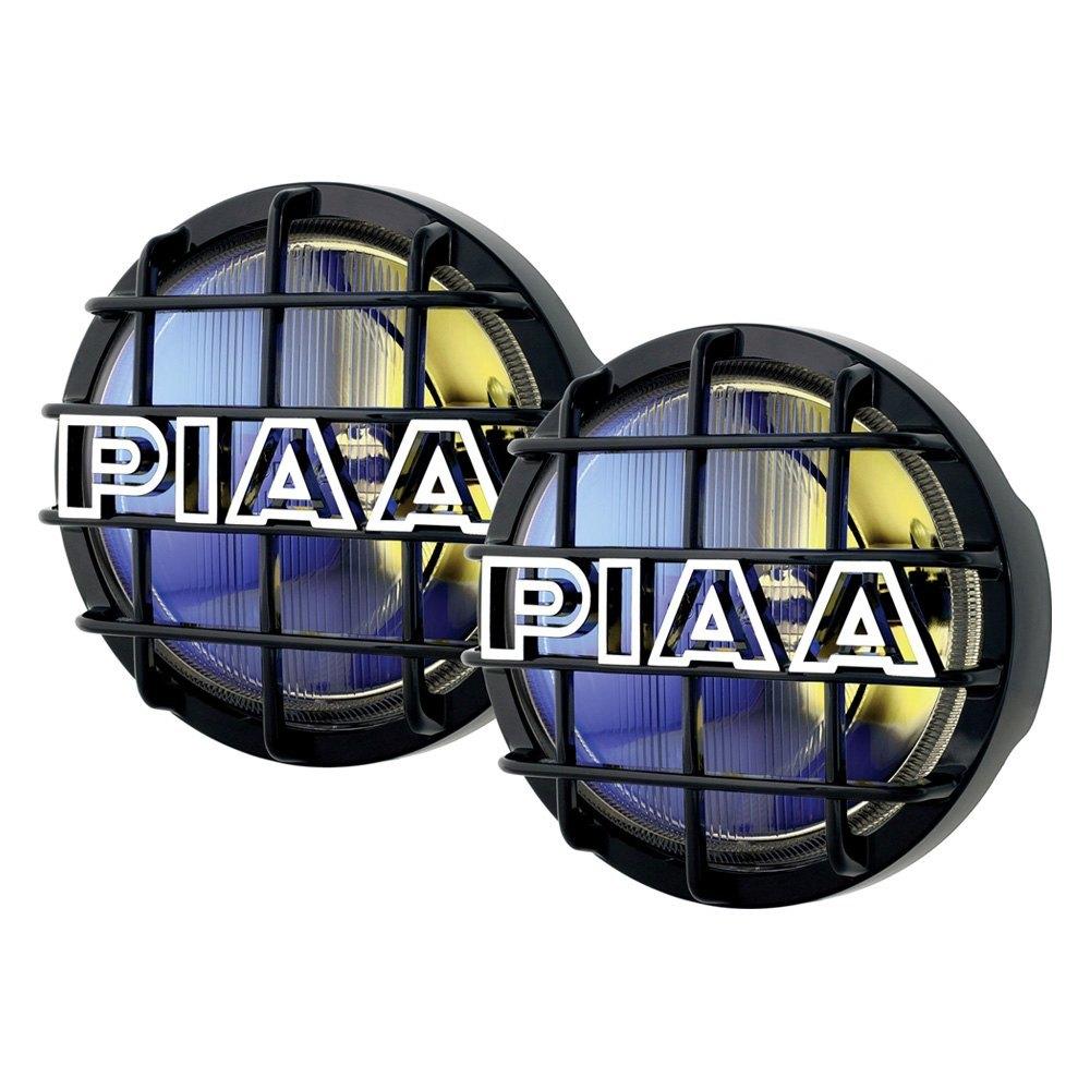 hight resolution of piaa 520 series 6 2x55w round fog beam yellow