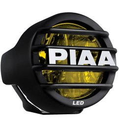 piaa lp 530 sae 3 5 9 3w round fog beam yellow led [ 1000 x 1000 Pixel ]