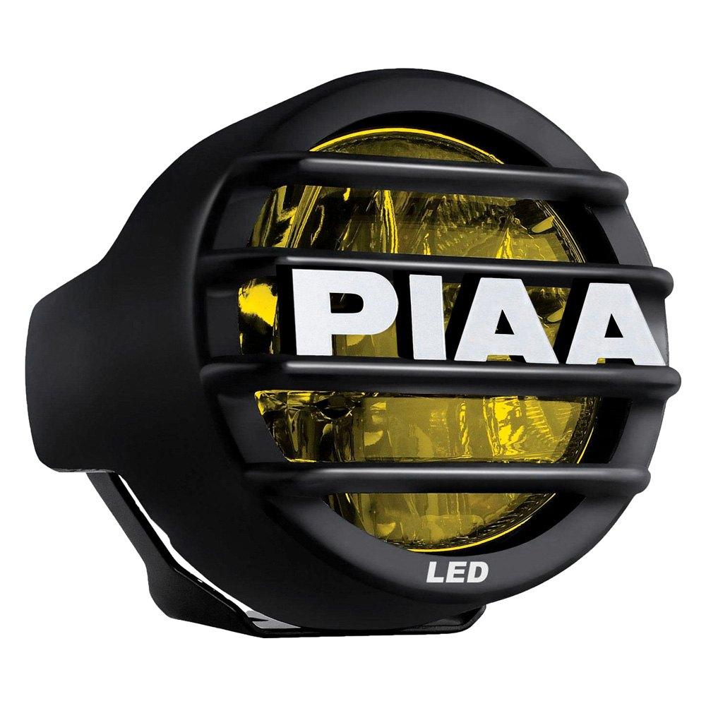 hight resolution of piaa lp 530 sae 3 5 9 3w round fog beam yellow led