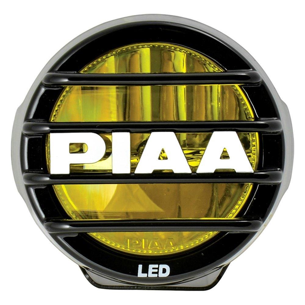 hight resolution of piaa lp 530 3 5 2x9 4w round fog beam yellow led lightspiaa lp 530 3 5 2x9 4w round fog beam yellow led lights