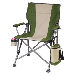 Picnic Time Chair Parts Wonda White Bonded Leather Accent With Wood Arms 800 00 140 000 Outlander Khaki Camp