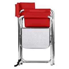 Picnic Time Sports Chair X Rocker Pro Pedestal Gaming 809 00 100 000 Red