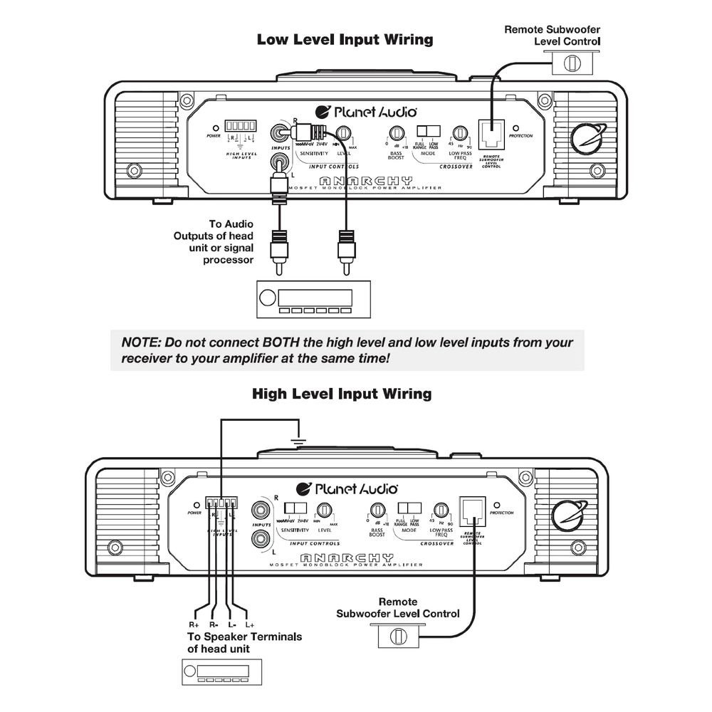 medium resolution of planet audio amp wiring diagram