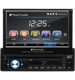 planet audio single din dvd cd am fm mp3  [ 1500 x 1500 Pixel ]