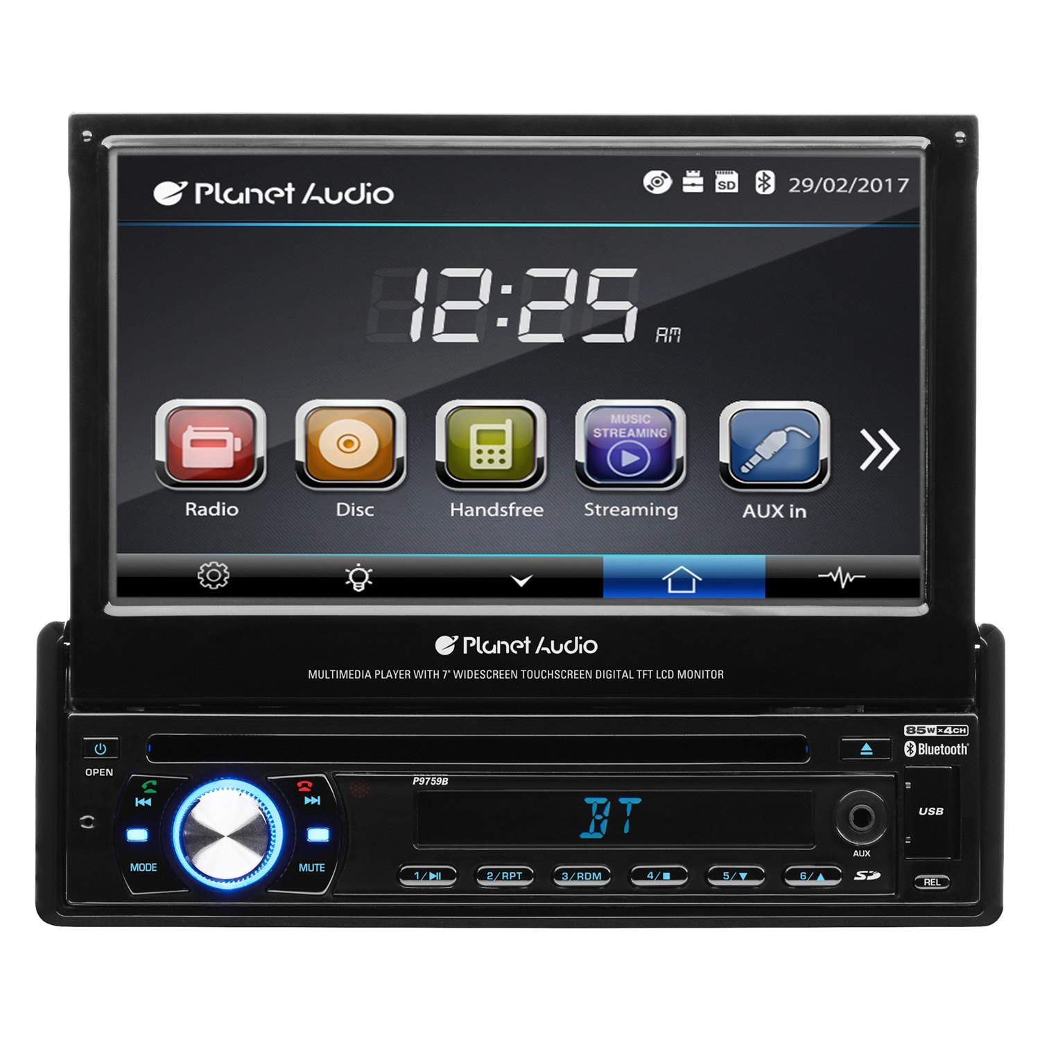 hight resolution of planet audio single din dvd cd am fm mp3