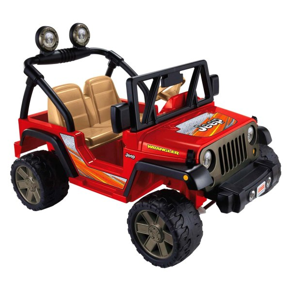 Power Wheels Red Jeep Wrangler
