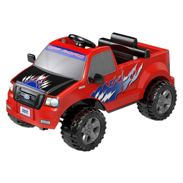 Power Wheels Ford F 150 Red