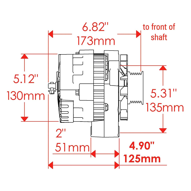 hight resolution of powermaster cs130d wiring diagram delco remy regulator wiring on alternator connector diagram