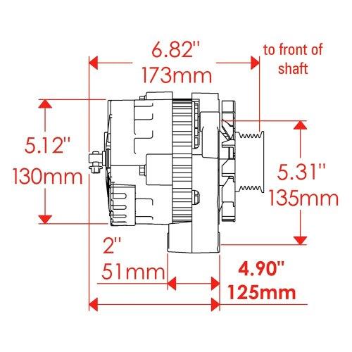 small resolution of powermaster cs130d wiring diagram delco remy regulator wiring on alternator connector diagram