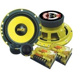 pyle 6 1 2 2 way gear series 400w component [ 1000 x 1000 Pixel ]