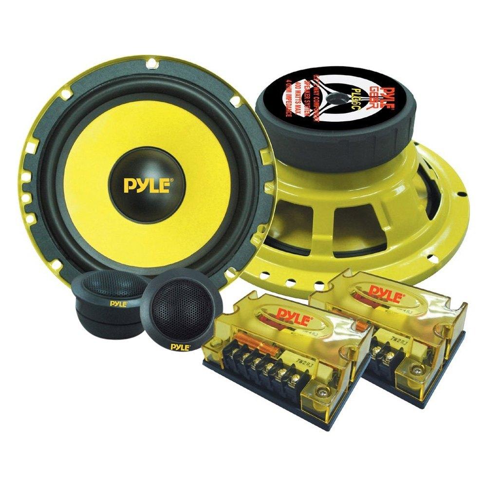 medium resolution of pyle 6 1 2 2 way gear series 400w component