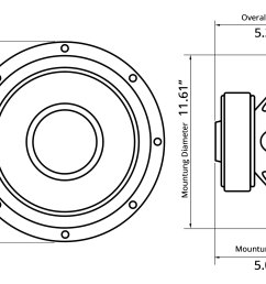 12 red label series 800w 4 ohm svc subwoofer [ 3000 x 2000 Pixel ]
