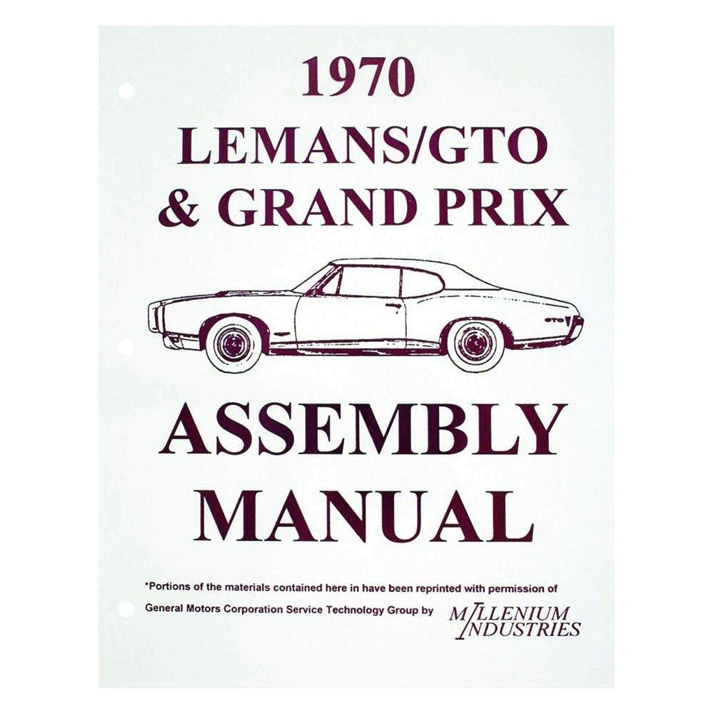 hight resolution of  qrp pontiac gto 1970 service manuals on pontiac interior pontiac parts pontiac