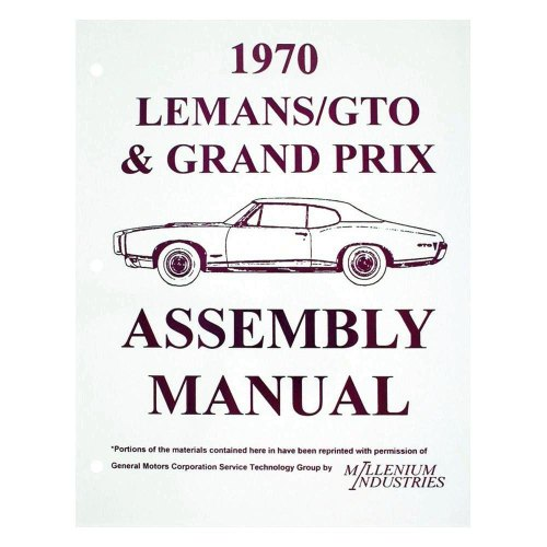 small resolution of  qrp pontiac gto 1970 service manuals on pontiac interior pontiac parts pontiac