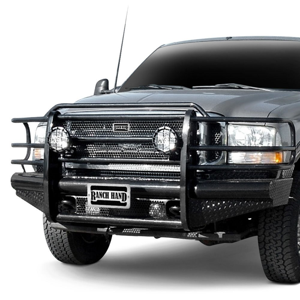 medium resolution of ranch hand legend series full width front hd black powder coat bumper