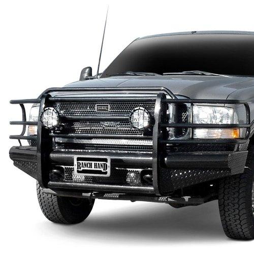small resolution of ranch hand legend series full width front hd black powder coat bumper
