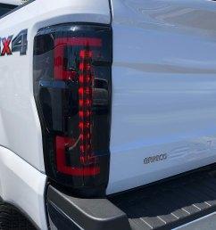 black smoke fiber optic led tail lightsrecon  [ 1000 x 1000 Pixel ]