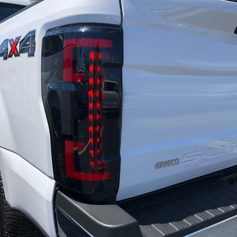 medium resolution of  black smoke fiber optic led tail lightsrecon