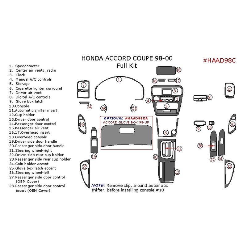 Custom Parts: Honda Accord Custom Parts