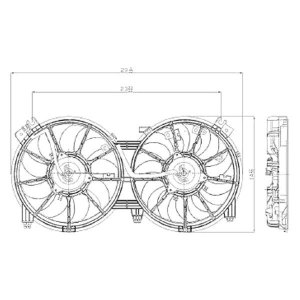 For Nissan Altima 20072015 Replace Radiator Fan Assembly