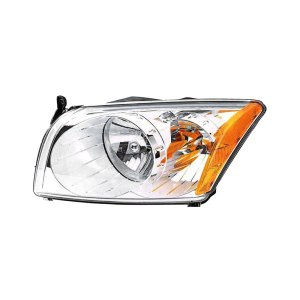 Replace®  Dodge Caliber without Headlight Leveling System 20072012 Replacement Headlight