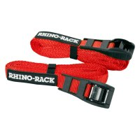 Rhino-Rack RTD45P - Red Tie Down Straps with Buckle ...