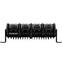 rigid industries adapt sae 10 94w led light bar with rgb  [ 1500 x 1500 Pixel ]