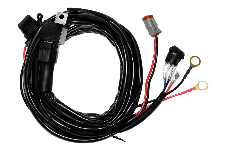 off road light wiring diagram rabbit skeleton rigid switch to aux oem toyota fj cruiser forum