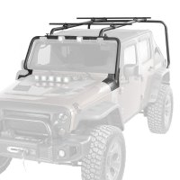 Rugged Ridge - Jeep Wrangler 2007 Sherpa Roof Rack Kit
