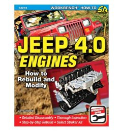 s a design jeep 4 0 engines how to rebuild and modify [ 1000 x 1000 Pixel ]