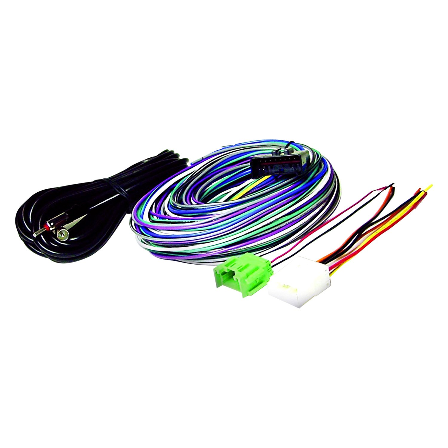 hight resolution of scosche radio wiring harness for aftermarket kit images gallery