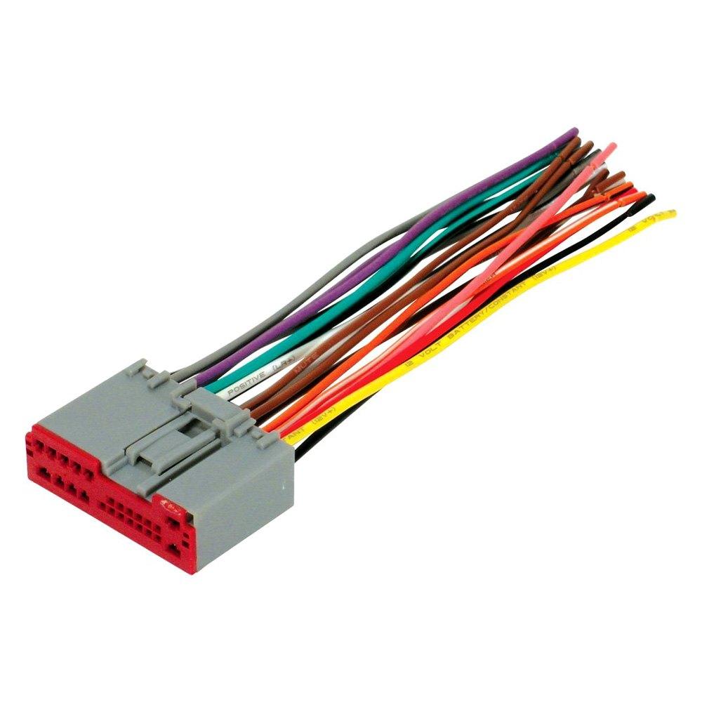 scosche radio wiring harness