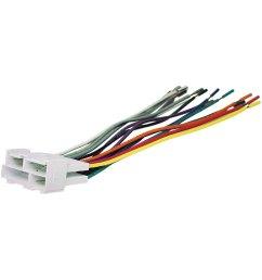 scosche aftermarket radio wiring harness with oem plug [ 1000 x 1000 Pixel ]