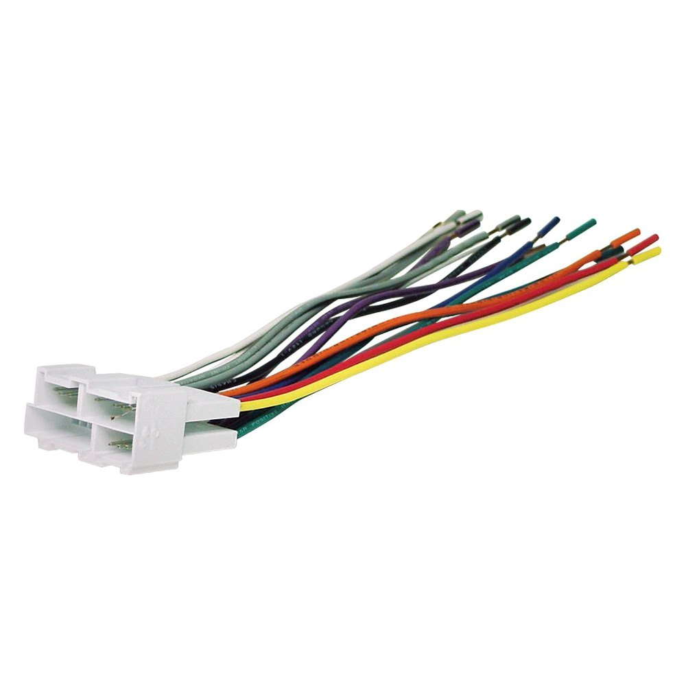 hight resolution of scosche aftermarket radio wiring harness with oem plug