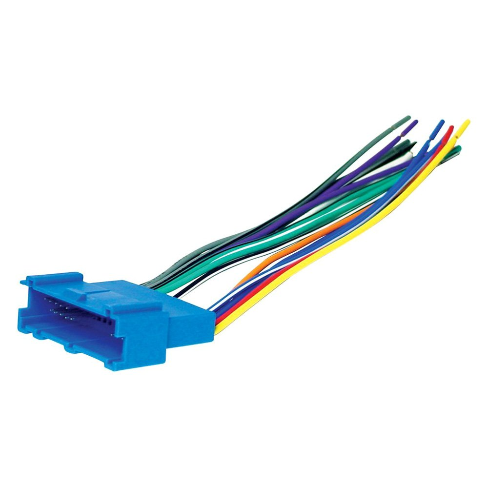 hight resolution of scosche aftermarket radio wiring harness with oem plug