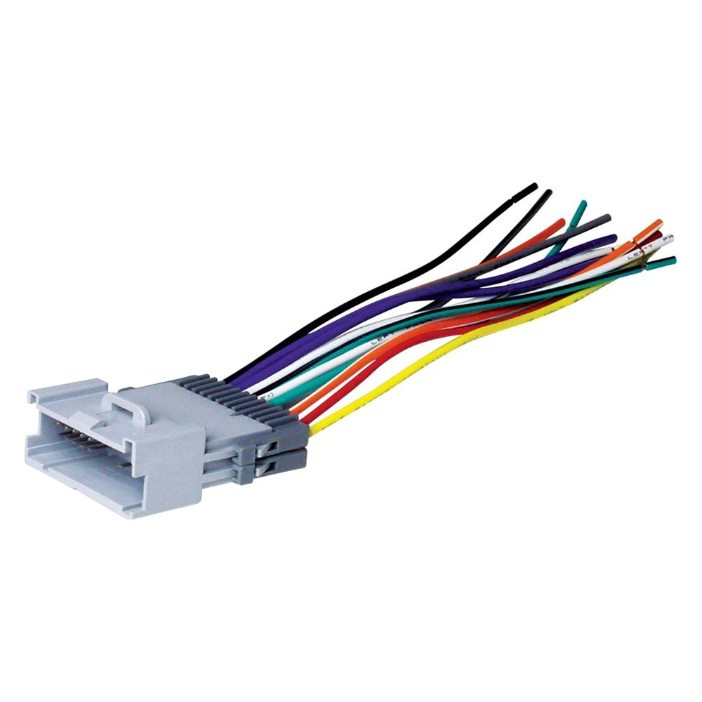 hight resolution of scosche aftermarket radio wiring harness with oem