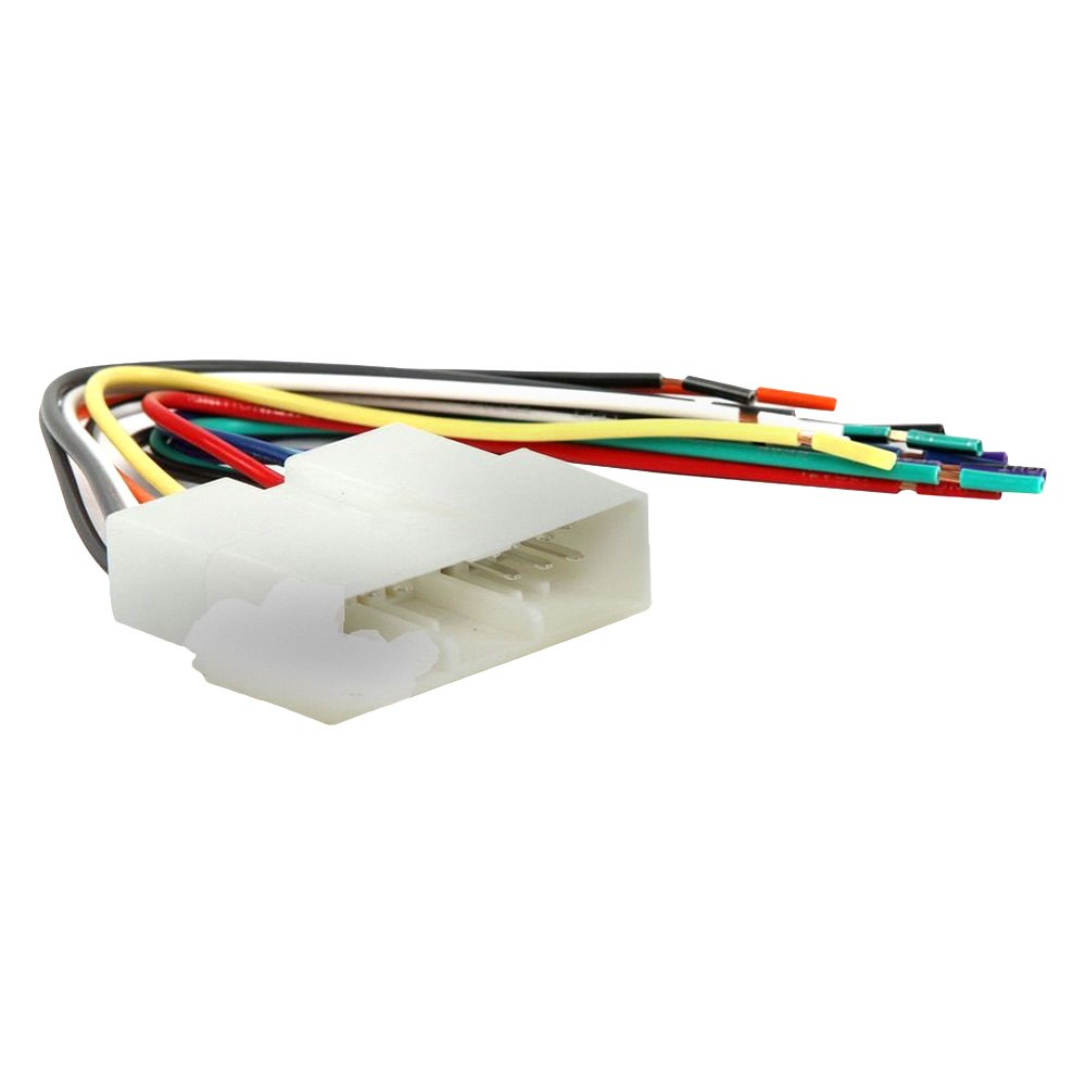 medium resolution of scosche aftermarket radio wiring harness with oem plug