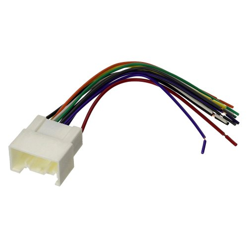 small resolution of scosche mi04b aftermarket radio wiring harness with oem plug radio wiring harnesses radio wiring harnesses