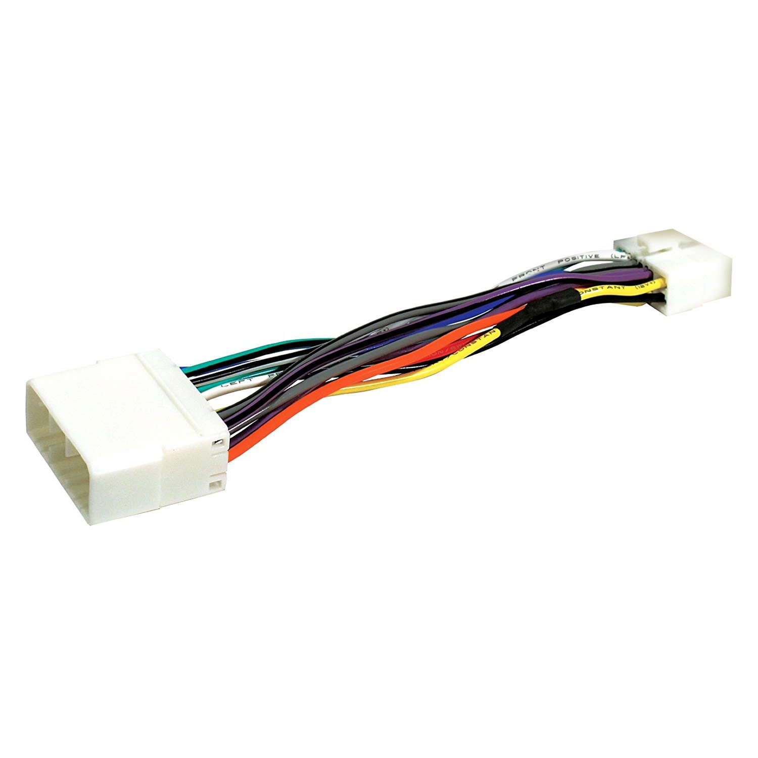 hight resolution of scosche direct connection aftermarket stereo wiring harness 16 pin clarion