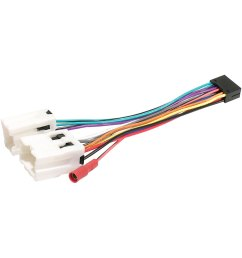 scosche direct connection aftermarket stereo wiring harness 16 pin  [ 1500 x 1500 Pixel ]