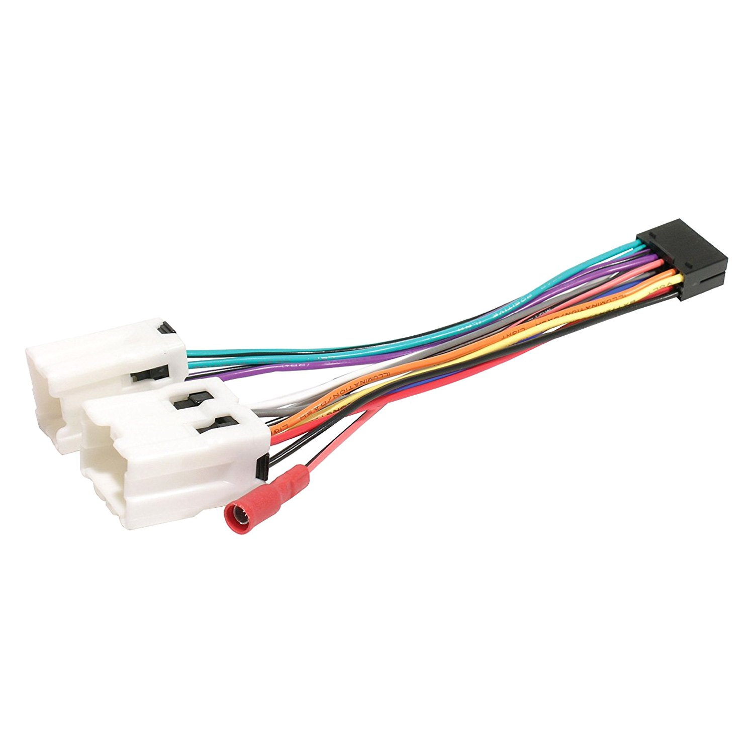 hight resolution of scosche direct connection aftermarket stereo wiring harness 16 pin