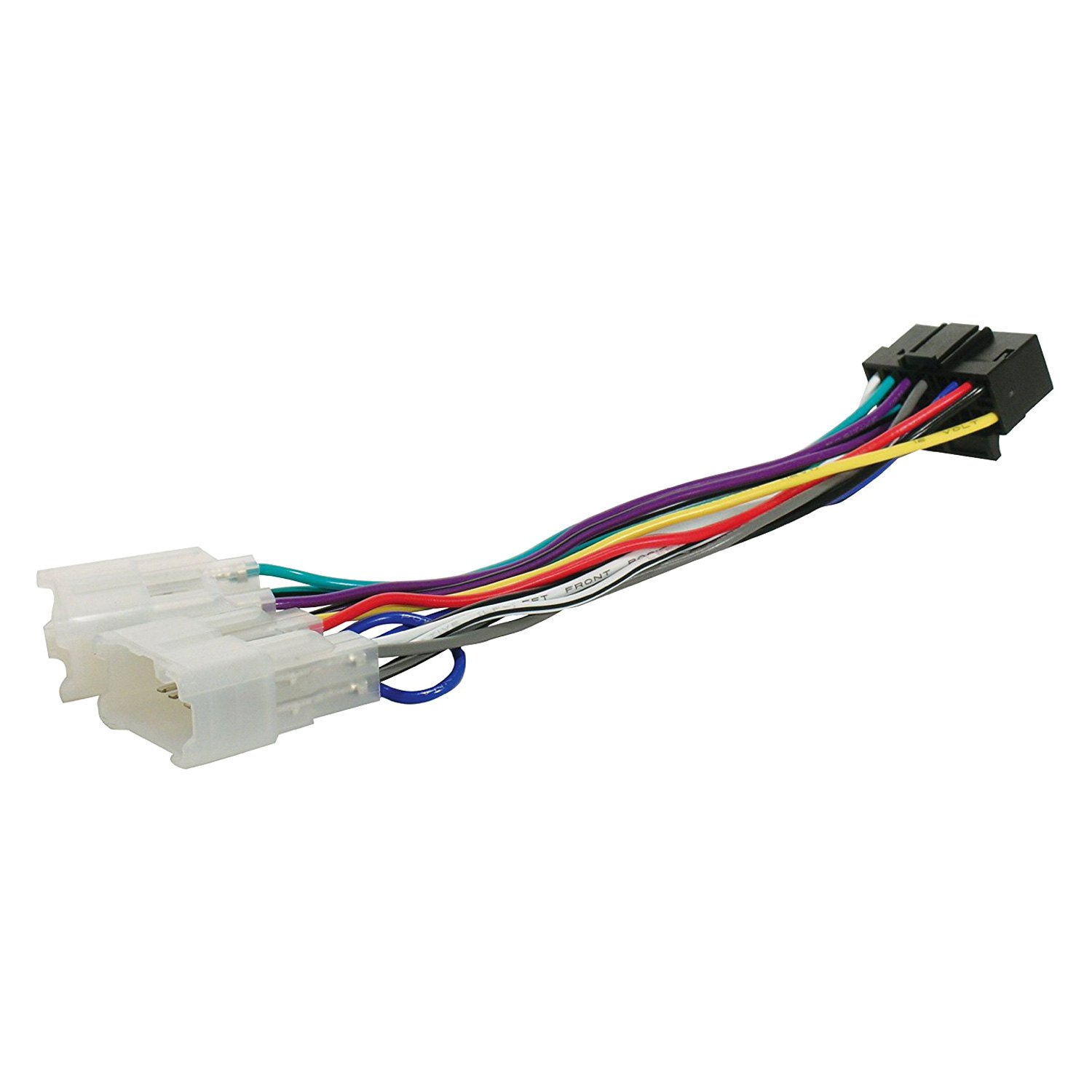 hight resolution of scosche direct connection aftermarket stereo wiring harness 16 pin sony